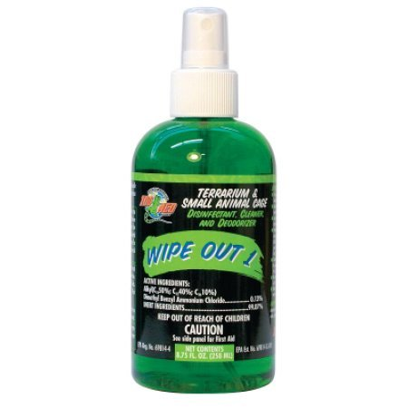 Zoo Med Wipe Out 1 Terrarium Cleaner, 8.75 Ounce