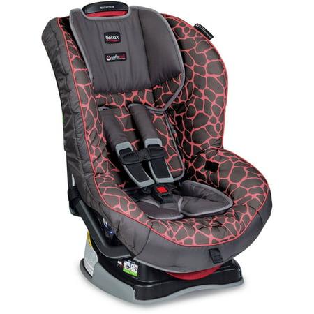 Britax Marathon G4.1 Convertible Car Seat, Pink Giraffe