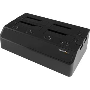 Startech 4-Bay Hard Drive Docking Station for 2.5in / 3.5...