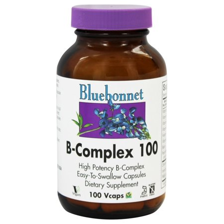 Bluebonnet Nutrition - B Complex 100 High Potency - 100 Vegetarian Capsules