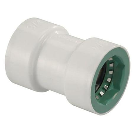33776 0.5 x 0.5 in. PVC Lock Coupling