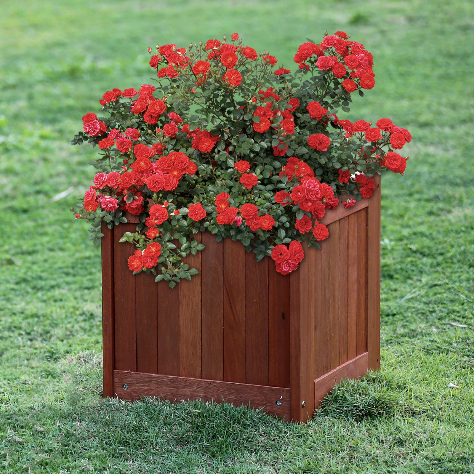 Furinno Tioman Teak Hardwood Flower Box by Furinno