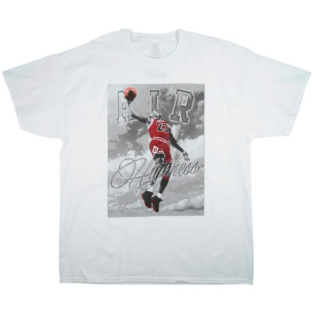a2e0dec64da Air Highness Jordan Basketball T-Shirt White Mens Plus Size - Walmart.com