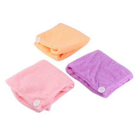 (Microfibre After Shower Hair Drying Wrap Towel Quick Dry Hair Hat Cap Turban)