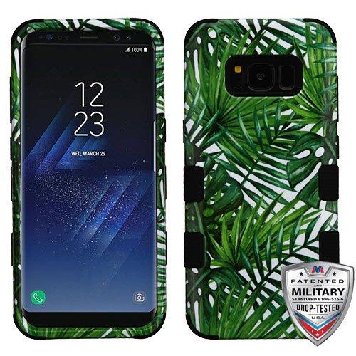 Samsung Galaxy S8 Case - Wydan Tuff Hybrid Hard Shockproof Case Protective Heavy Duty Phone Cover Autumn Flower