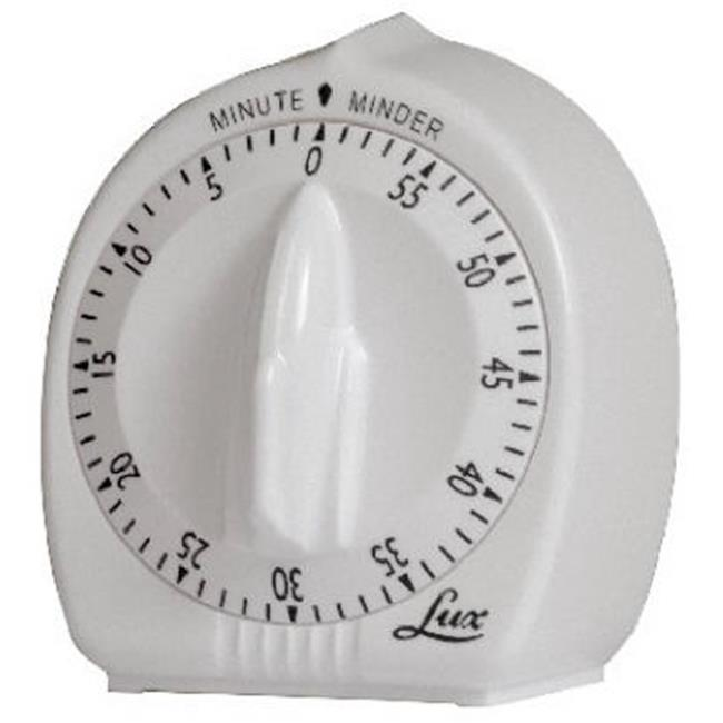 Lux Products CP2428-59 60 Minute Cooking Timer, White