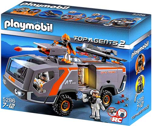 Top Agents 2 Spy Team Command Vehicle Set Playmobil 5286 by