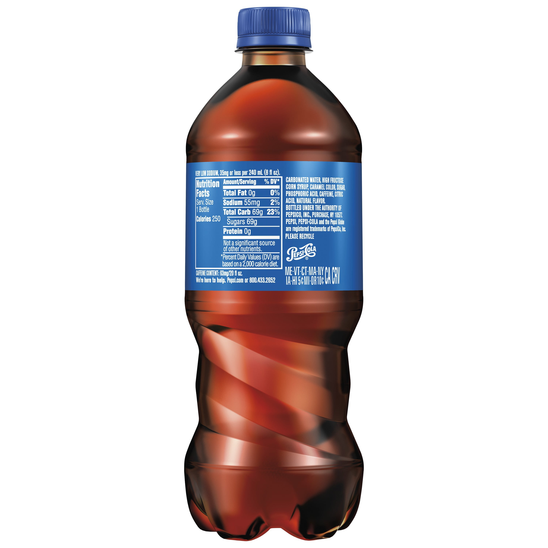 Pepsi Soda 20 Oz Bottle Walmart Com Walmart Com