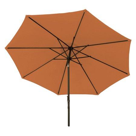 9' Market Umbrella Aluminum, Crank & Tilt ()