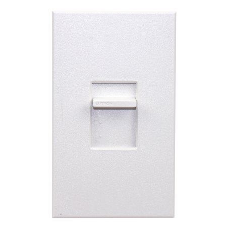 Lutron Ntlv-1000-277-Wh Nova T 277V 800W Magnetic Low Voltage Single Pole Slide-To-Off Dimmer White