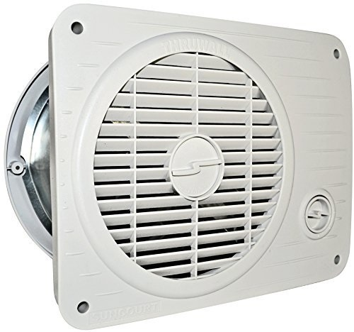 Suncourt TW208P Thru Wall Fan Hardwired Variile Speed