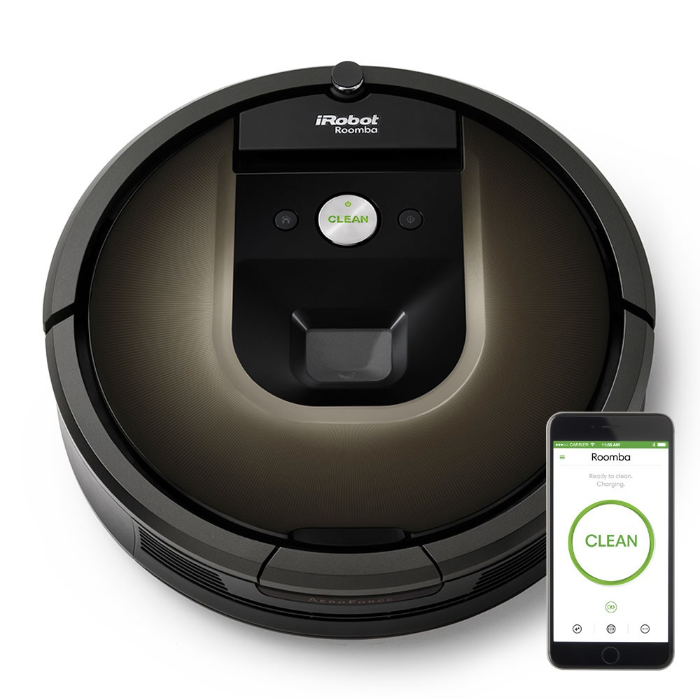 iRobot Roomba 980 Wi-Fi Connected Robot Vacuum w Manufacturer's Warranty by iRobot