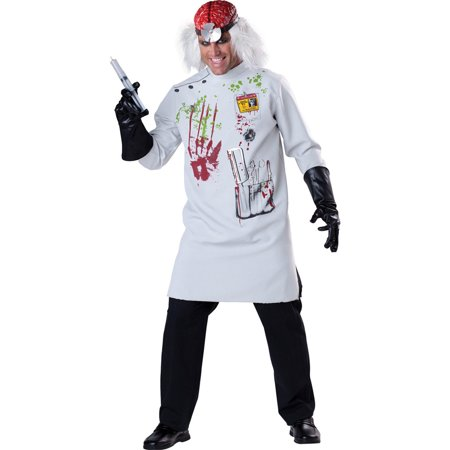 Adult Mad Scientist Costume Incharacter Costumes LLC - Mad Scientist Coat