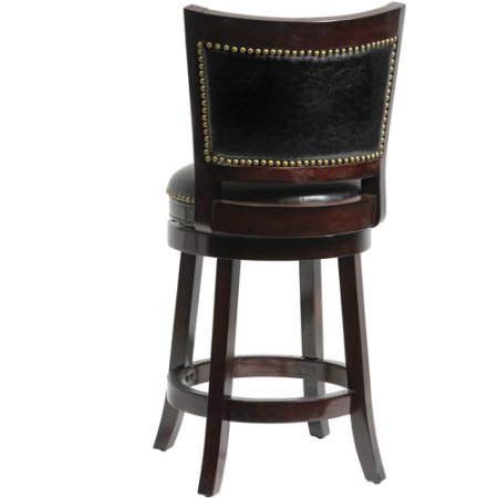 Boraam Bristol Swivel Counter Stool 24 Quot Walmart Com