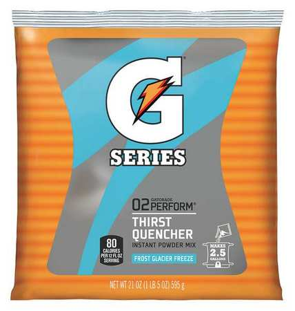 Gatorade Sports Drink Mix Powder, Glacier Freeze 21 oz., 33677