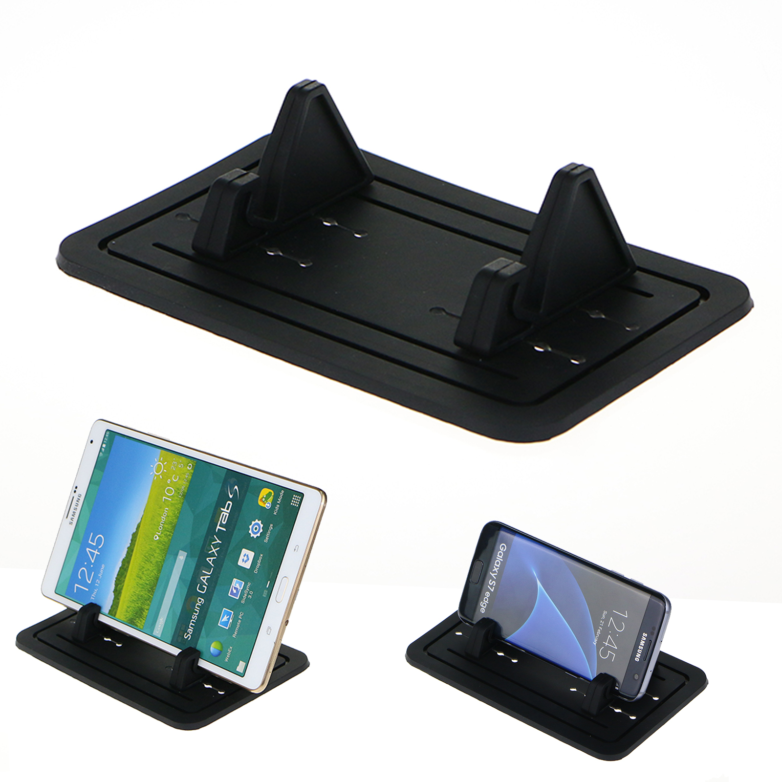 Universal Car Silicon Pad Dash Mat Cell Holder Cradle Dock for Phone Tablet