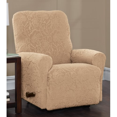Red Barrel Studio Box Cushion Recliner Slipcover