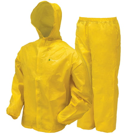 Frogg Toggs Youth Ultra-lite2 Waterproof Rain Suit - Medium, Yellow