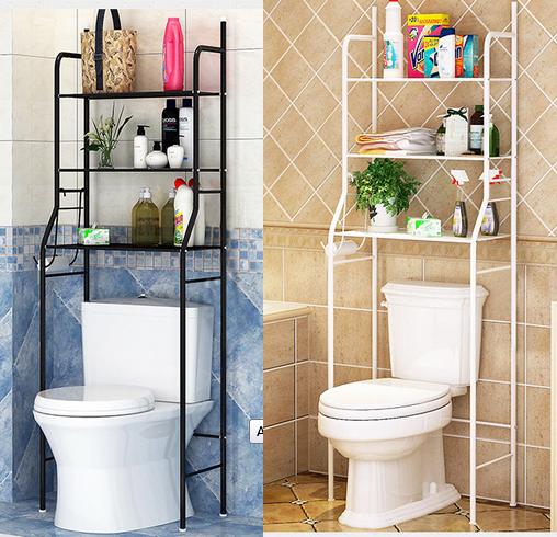 Yosoo Bathroom Space Saver,3-Tier Iron Toilet Towel Storage Rack Holder Over The Bathroom Toilet Shelf Organizer,22 X 10 X 60 Inch