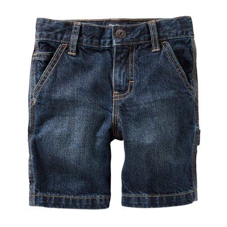OshKosh B'gosh Big Boys Denim Shorts - Faded Medium, 14 Kids