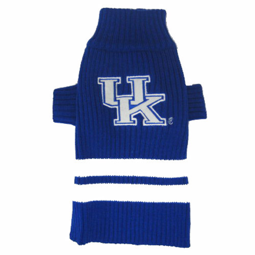 University of Kentucky Wildcats Knitted Turtleneck Pet Sweater