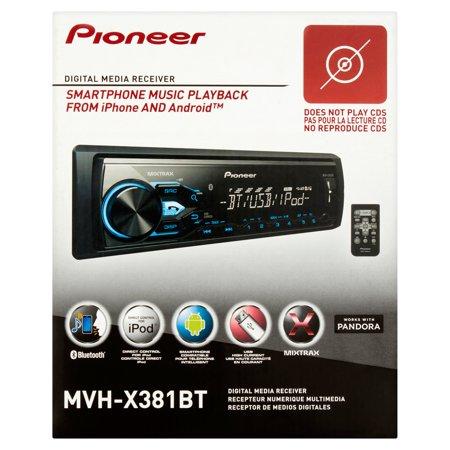 Pioneer Mvh X381bt Am Fm Usb Ipod Digital Media Receiver With Built In Bluetooth