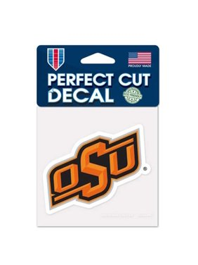 "Oklahoma State Cowboys WinCraft 4"" x 4"" Color Perfect Cut Decal"