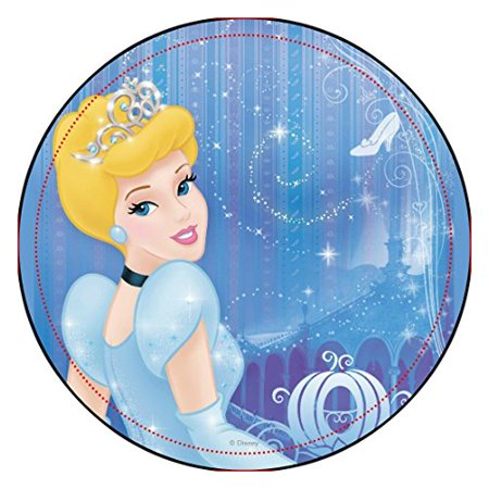 Cinderella Princess Edible Image Photo Cake Topper Sheet Birthday Party - 8 Inches Round - 10100