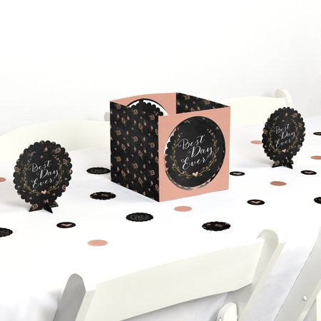 Best Day Ever - Bridal Shower Party Centerpiece & Table Decoration Kit