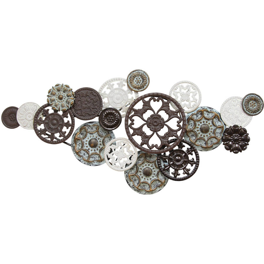 Stratton Home Antique Medallion Cluster Wall Decor