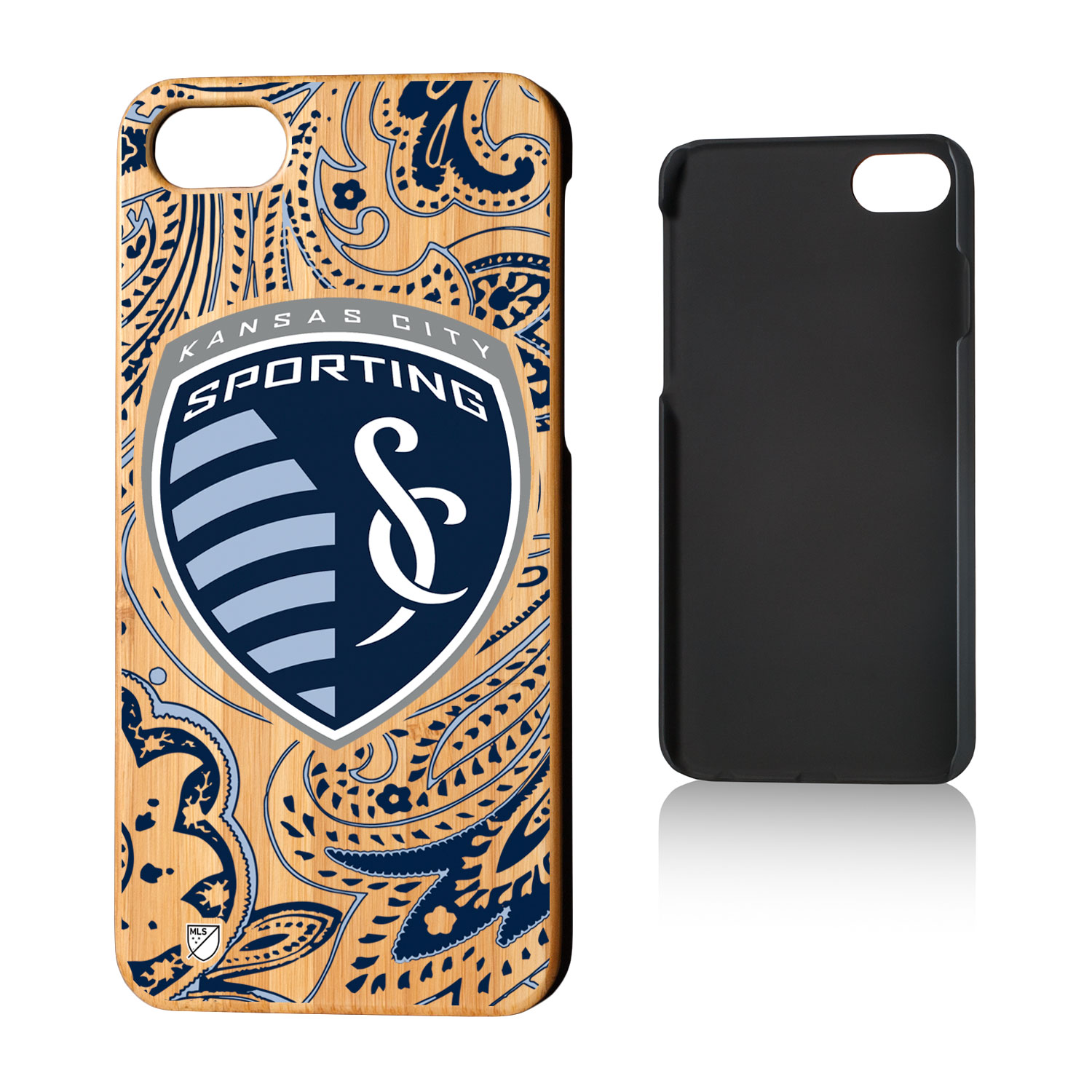 Sporting Kansas City SPORTING Paisley Bamboo Case for iPhone 8 / 7