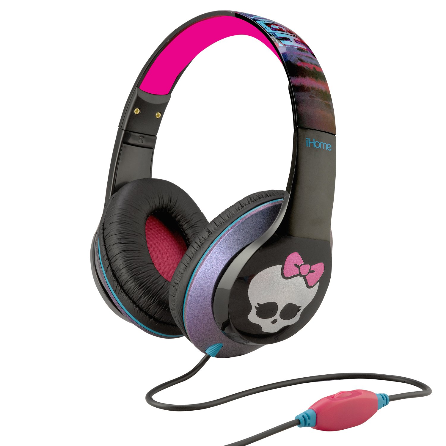 Monster High Over-the-Ear Headphones with Volume Control (Mi-M40MH.FX)