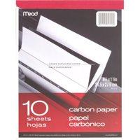Mead, MEA40112, Carbon Paper Tablet, 1 Each, Black