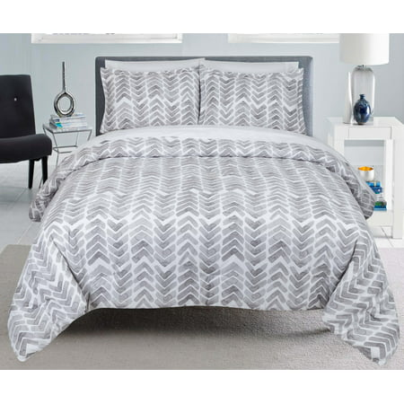 Painted Chevron Twin Xl Comforter Set Walmart Com