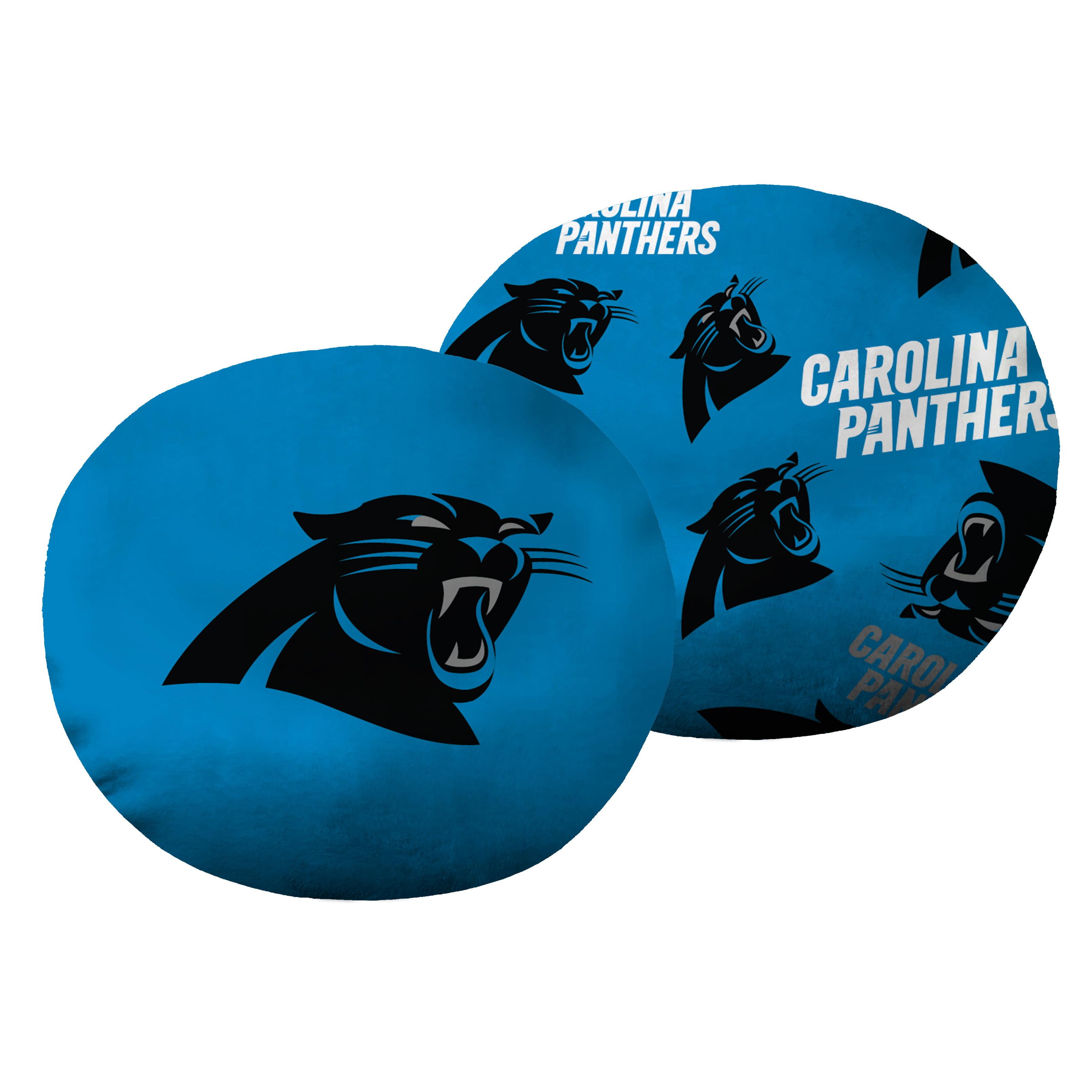 """NFL Carolina Panthers, 11"""" Cloud Pillow, 1 Each"""
