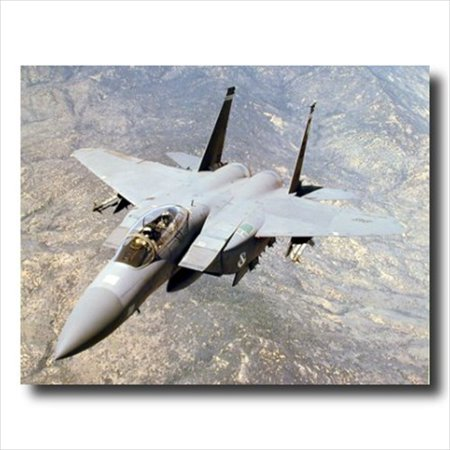 F15E Strike Eagle Jet Airplane Wall Picture Art (F15 E Strike Eagle)