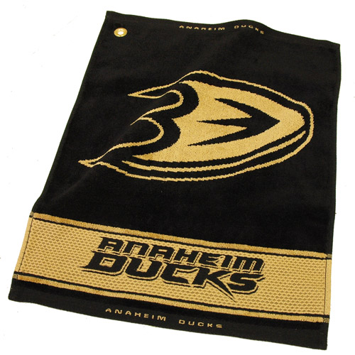 Team Golf NHL Anaheim Ducks Jacquard Woven Golf Towel
