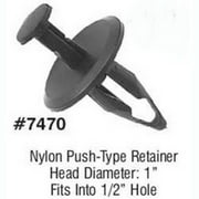 LSP Products 7470R Gm Push Type Retainer