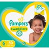 Pampers Swaddlers Diapers Size 6 50 Count