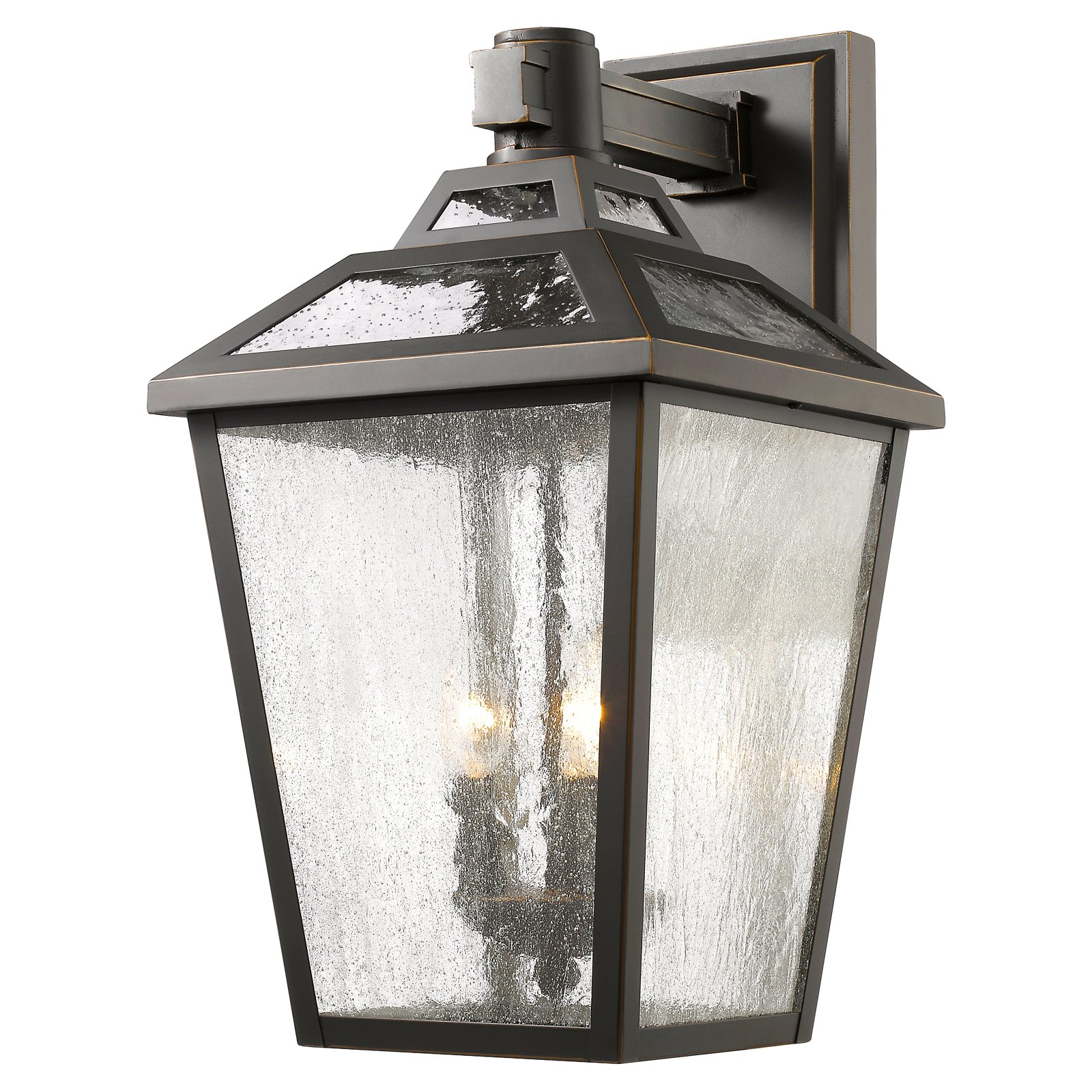 Z-Lite Bayland Outdoor 3-Light Wall Sconce, Oil Rubbed Bronze by Z-Lite