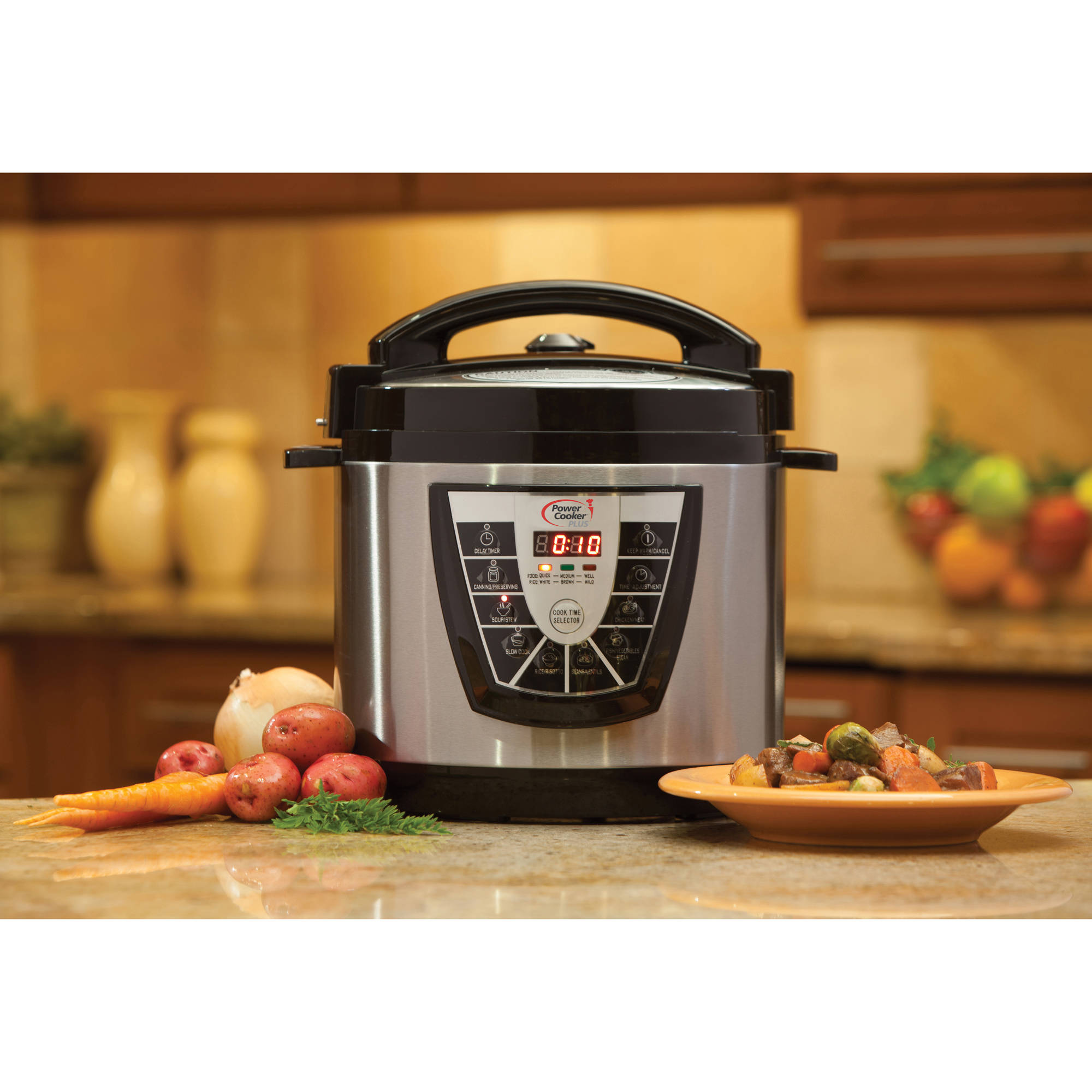 Power Cooker Pressure Cooker, 8QT