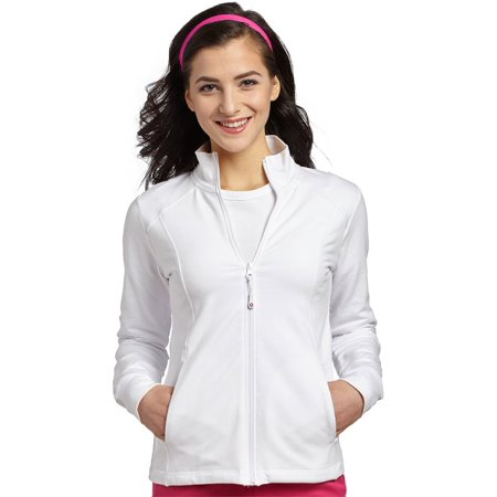 French Terry Hooded Jacket (Allure by White Cross Women's French Terry Jacket)