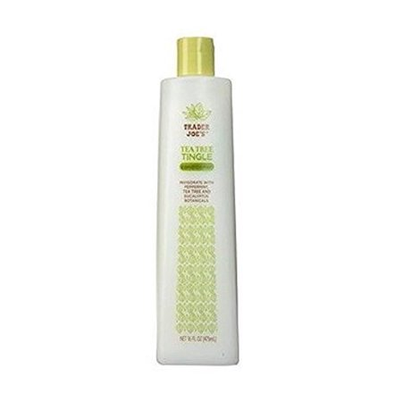 Trader Joe's Tea Tree Tingle Conditioner with Peppermint and Eucalyptus - Cruelty Free (16 oz) (Trader Jobs)