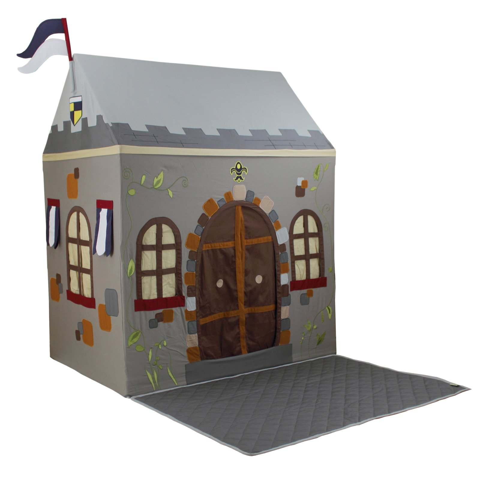 Dexton Toadi Castle Playhouse and Floor Quilt