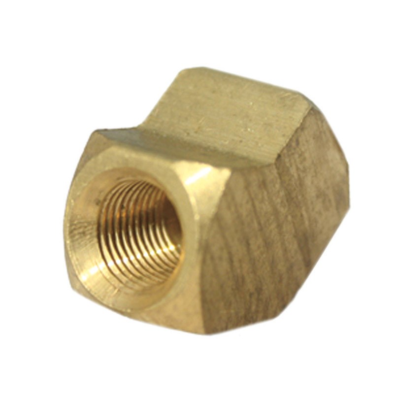 "Jmf Pipe Elbow 45 Deg. 1/4 "" Fpt Yellow Brass Lead Free"