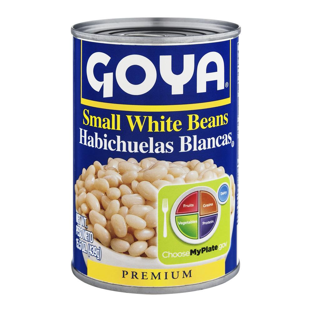 (5 Pack) Goya White Beans, 15.5 Oz