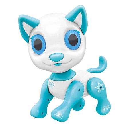BIRANCO. Electronic Pets Dog Toy - Interactive Puppy Smart Robot Toys for Age 3 4 5 6 7 8 Year Old Boys & Girls | Gifts Idea for Kids (White) (Robots For 4 Year Olds)