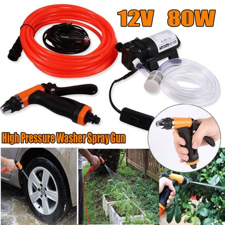 Image of Zaqw Electrical Pressure Washer Car Wash Car Cleaning Self-priming Power Washer, Spray Wash Portable Washer