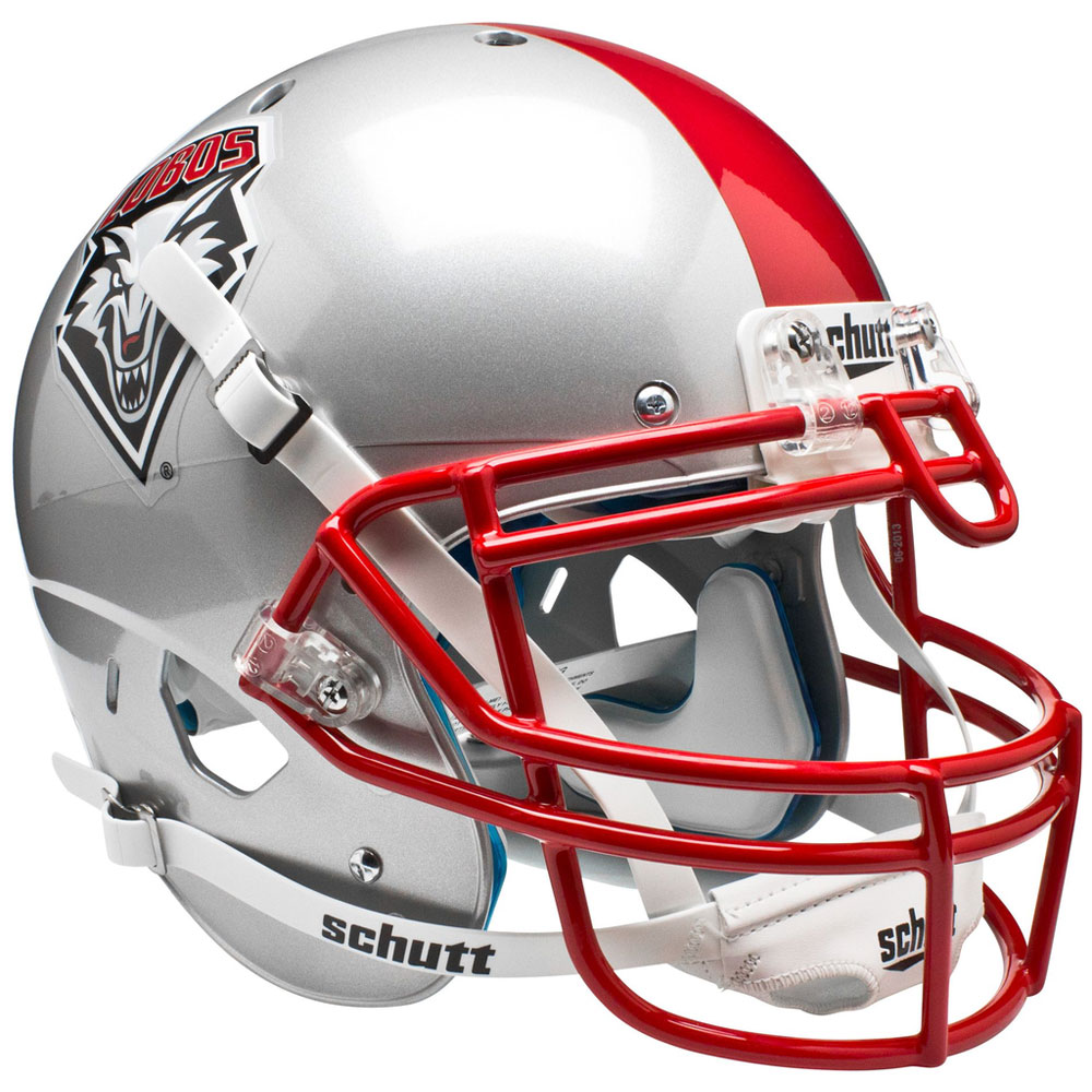 New Mexico Lobos NCAA Authentic Mini 1/4 Size Helmet