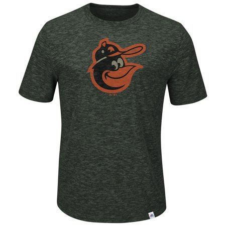 Baltimore Orioles Majestic Big & Tall Cooperstown Collection Back in the Day T-Shirt - Charcoal - Malls In Baltimore